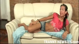 Tiny asian in panties is eagerly waiting for her cock insertion shot
